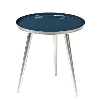 Basse Cm Copenhagen Table Jelva Broste Foncé 35 Émail Bleu 8nOkPX0w