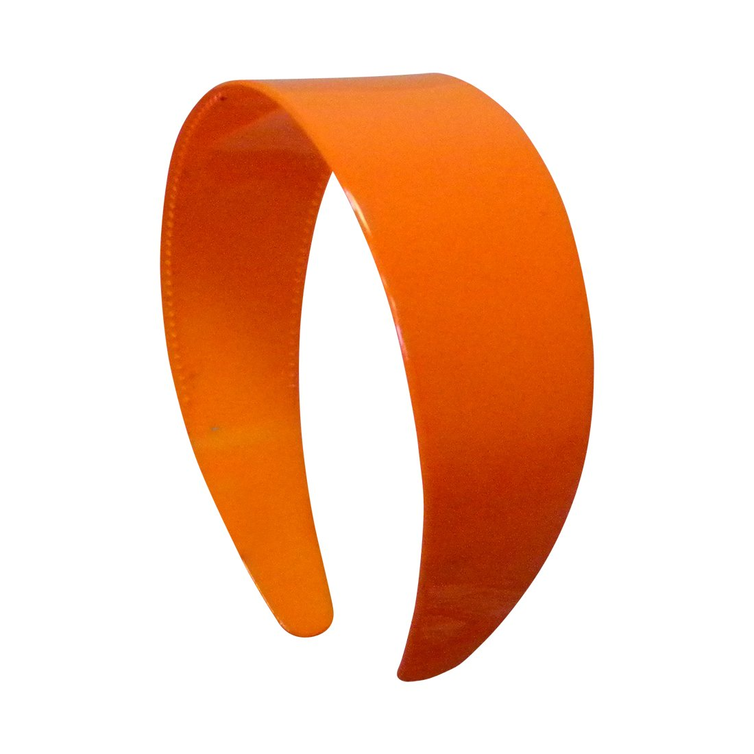 Amazon.com  Orange 2 Inch Hard Plastic Headband with Teeth Women and Girls  wide Hair band (Motique Accessories)  Beauty 6e2a86b79e2
