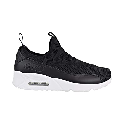 info for e8f26 962b4 NIKE Youth Air Max 90 EZ Grade School Black White Mesh Trainers 35.5 EU