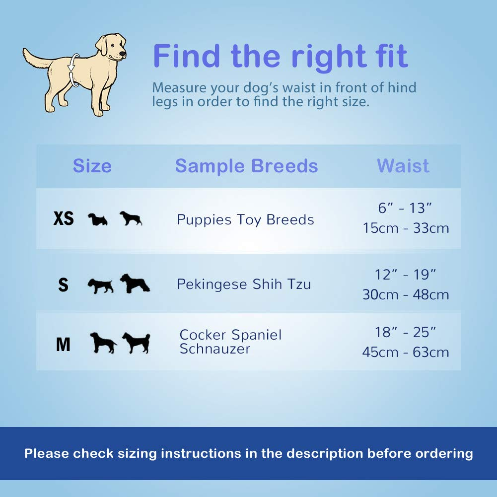 Pet Soft Disposable Male Wrap Dog Diaper, 72Count, S, White by Pet Soft