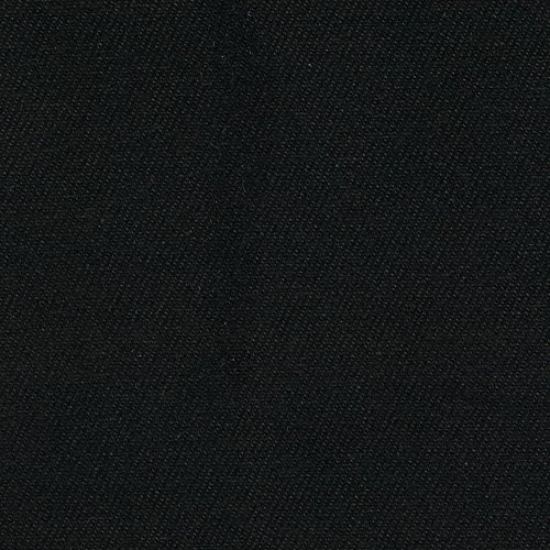 Carr Textile 12 oz Brushed Bull Denim Black ()