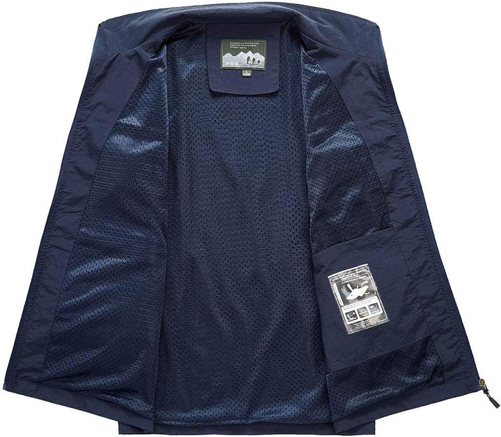 LauVery Fashion Men Vest Jacket Tops Fishing Vest Casual Outdoor Quick-Drying Vest Top Blouse