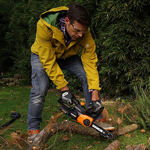 Worx WG322 10-in Cordless 20V Chainsaw with Auto-Tension and Auto-Oiling by Worx (Image #4)