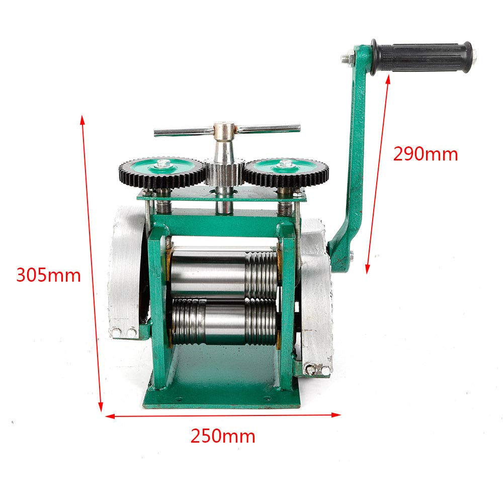 Manual Rolling Mill Machine, Combination Rolling Mill Jewelry Press  Tabletting Tool Machine 85mm for Jewelry Design & Repair (US Stock) - -  Amazon.com