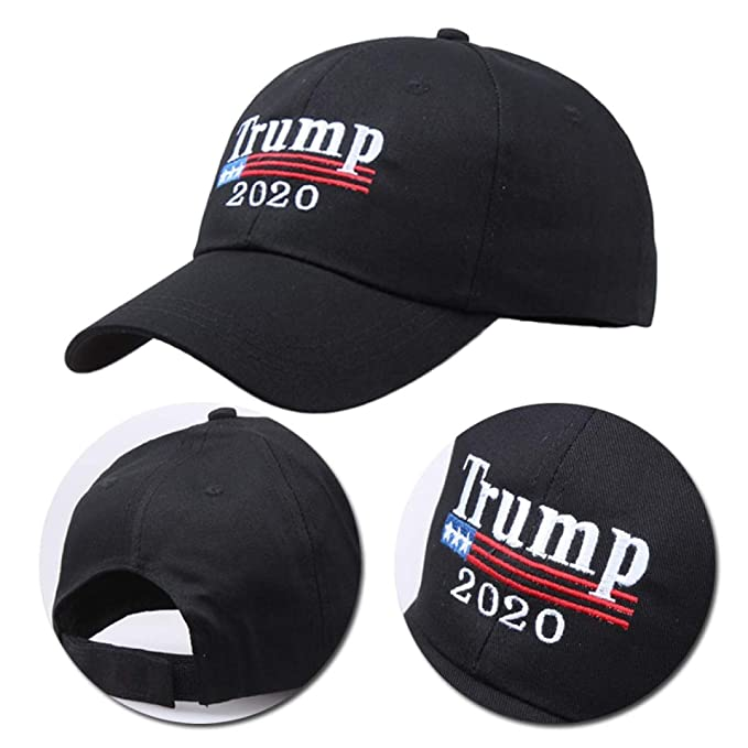 FLAMINGO_STORE Trump 2020 hat Make America Great Again mesh Baseball Cap Women Snapback Hat Red at Amazon Womens Clothing store:
