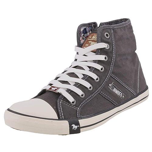 Mustang - Zapatillas Altas de Lona Mujer: Amazon.es: Zapatos y complementos