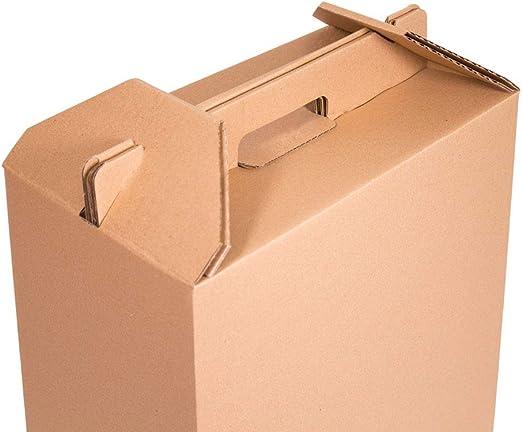 Kartox | Caja para Vino | Estuche de 6 botellas de vino | Caja para lote de navidad | Impreso | 4 Unidades: Amazon.es: Oficina y papelería