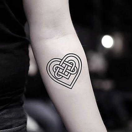 Tatuajes de corazón celta