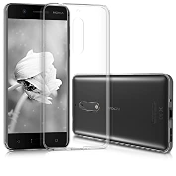 ELECTRÓNICA REY Funda Carcasa Gel Transparente para Nokia 5, Ultra ...