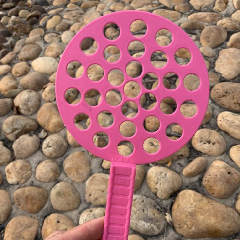 NUOBESTY Varita de Burbuja Conjunto de Varita de Burbuja Gigante Fabricante de Burbujas Soplando Herramientas de Jab/ón de Burbujas Diversi/ón de Verano Suministros de Burbujas para Ni/ños 6 Piezas