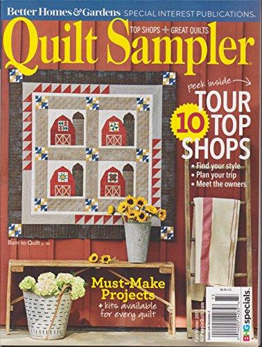 Sampler Magazine - Better Homes & Gardens Quilt Sampler Magazine Fall/Winter 2017