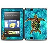 "Kindle Fire HD (fits 7"" only) Skin Kit/Decal - Sacred Honu - Al McWhite"