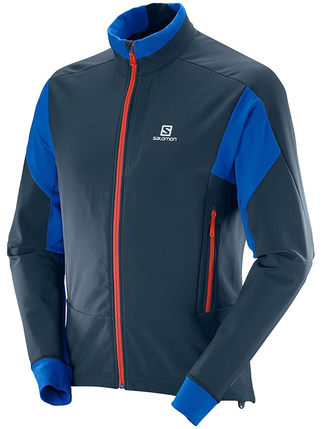 Outdoor Jacket Men Salomon Momemtum Softshell Outdoor Jacket