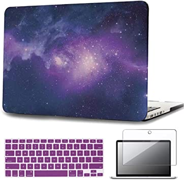 Plastic Hard Case Shell /& Keyboard Cover /& Screen Protector Only Compatible Old MacBook Pro 15 Inch CD-ROM MacBook Case,Laptop Case Color 13 Model: A1286, Version 2012//2011//2010