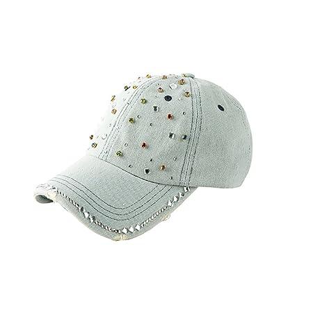 Gorras de béisbol YXX- Sombreros de Vaquero de Las Mujeres Sombrero de Sun  del Verano Sombrero de la Visera de la Moda Sombrero del Cubo Sombreros  Sombreros ... 1f344b38142