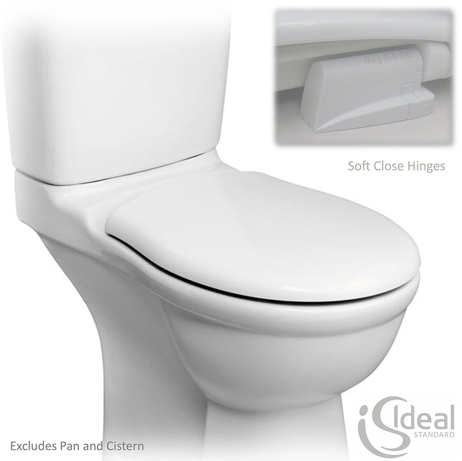 Ideal Standard Alto Soft Close Toilet Seat (E759401): Amazon.co.uk ...