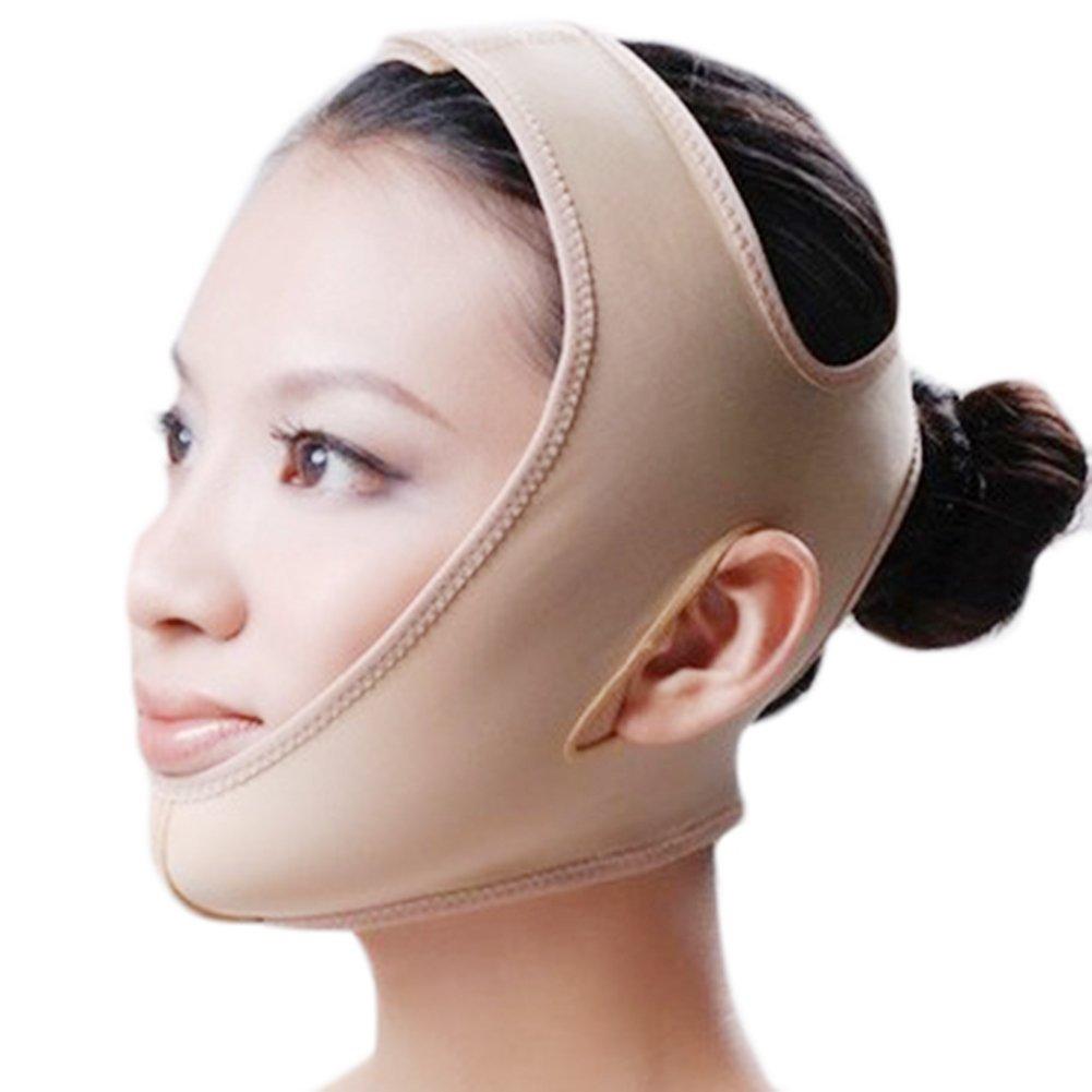 Molie cuidado facial anti arrugas adelgazamiento mejilla máscara ascensor V Línea Cara correa de cinturón, 4tamaños disponibles