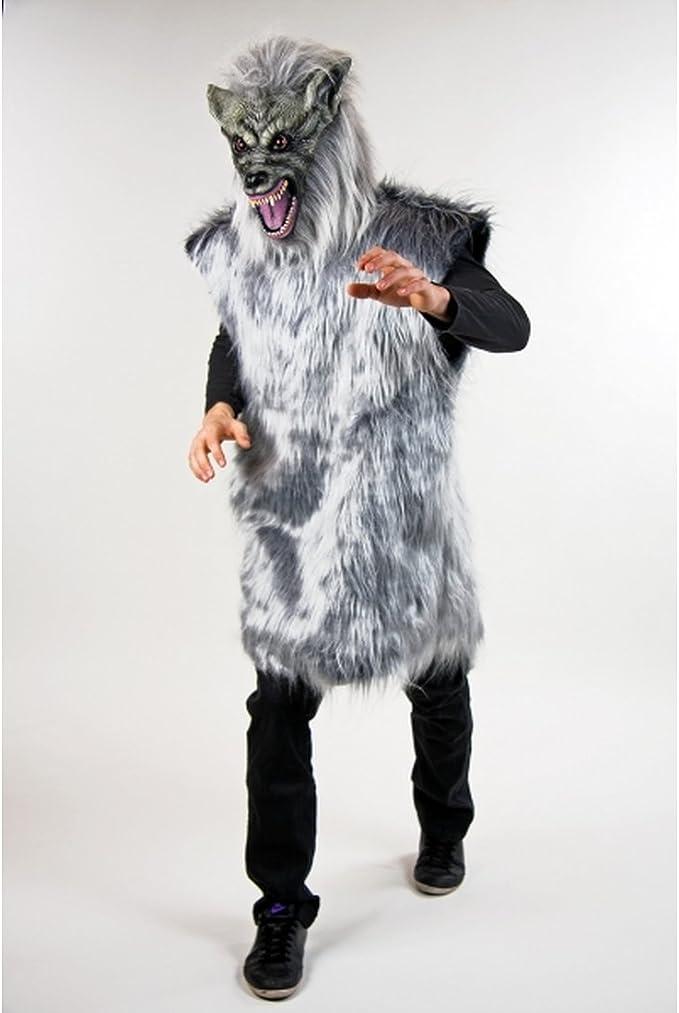 Disfraz de lobo malo de disfraces disfraz de lobo gris de ...