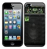Case for iPhone SE/5/5S,Trace Elliot Bass Amplification Acoustic Music Speak iPhone SE/5/5S Case - Black TPU Case