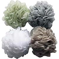 Amazon Price History for:Bath Shower Sponge Loofahs (60g/pcs) Mesh Pouf Shower Ball, Mesh Bath and Shower Sponge Pack of 4