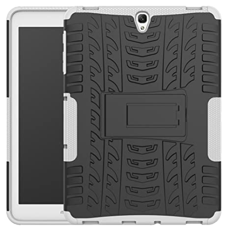 new product 646c2 bc2c4 Galaxy Tab S3 9.7 Inch Back Case Armor DWaybox Hybrid Rugged Heavy Duty  Hard Case Cover with Kickstand for Samsung Galaxy Tab S3 9.7 Inch 2017  SM-T820 ...
