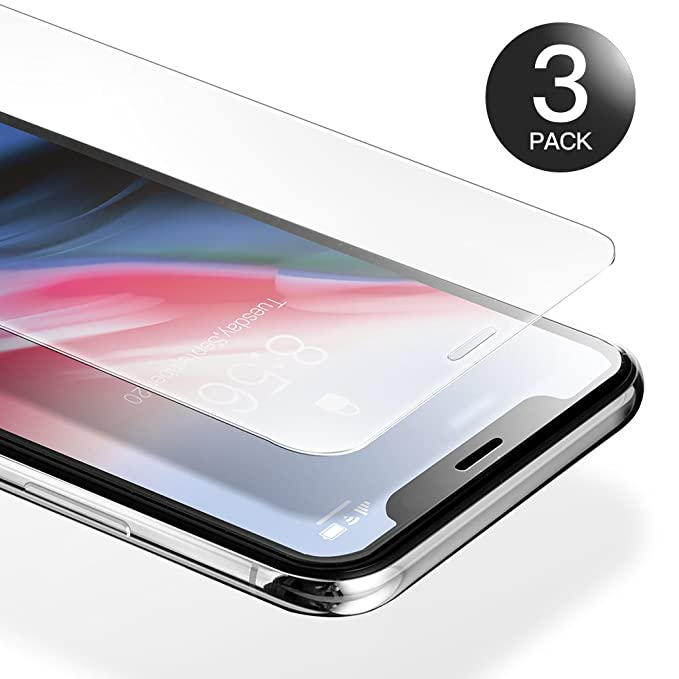 19 opinioni per [3-Pack] Pellicola iPhone X, AXHKIO Pellicola Vetro Temperato per Apple iPhone X