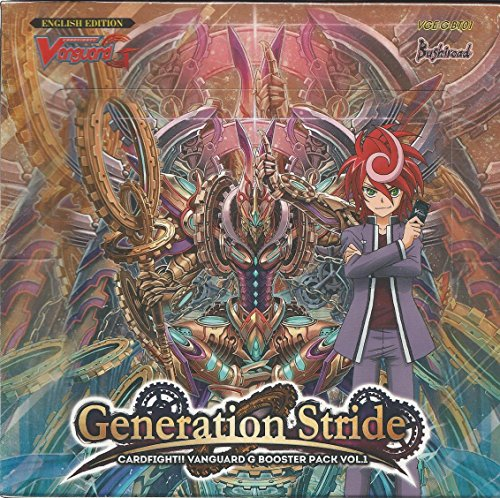 Generations Booster (Cardfight Vanguard G Generation Stride Booster Box VGE-G-BT01)