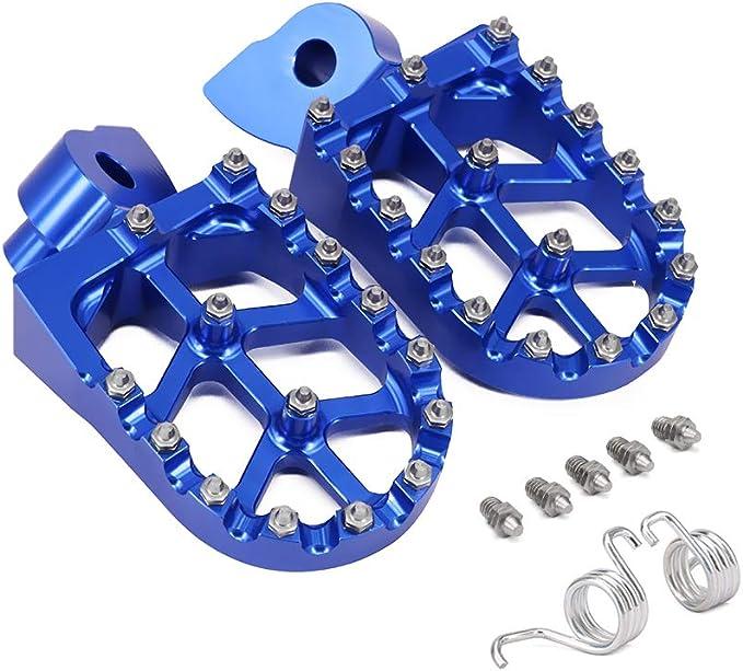 Anxin Fußrasten Fußrasten Fußrasten Fußrasten Fußpedale Rests Cnc Mx Für Yamaha Yz65 Yz85 Yz125 250 Yz250f Yz426f Yz450f Yz125x Yz250x Yz250fx Yz450fx Wr250f Wr400f Wr426666 F Wr4500 F Auto