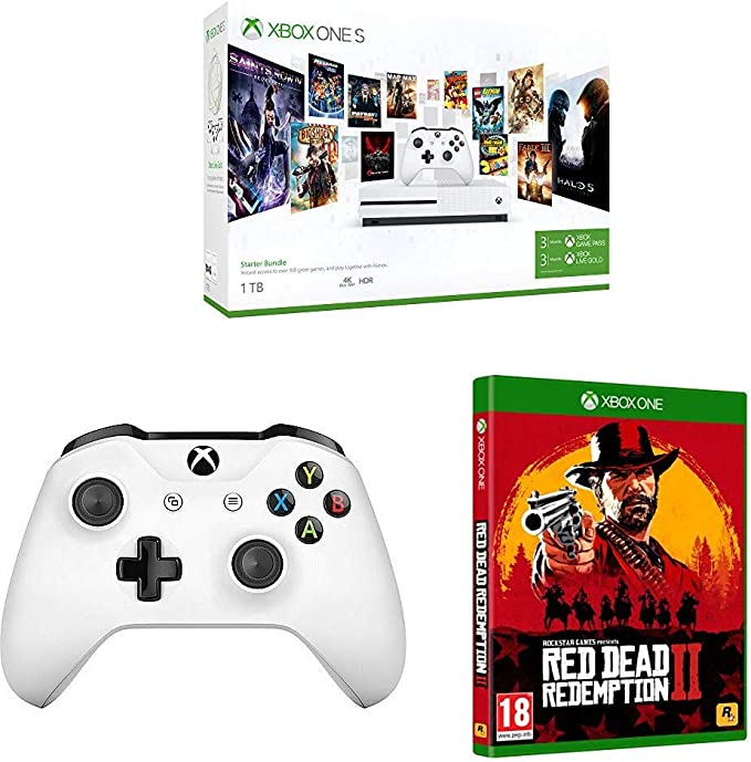 Microsoft Xbox One S - Consola 1 TB + Red Dead Redemption 2 (Xbox ...