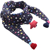 Ruikey Bebé Pañuelos de Cuello Bufanda del Invierno del Otoño de los Niños Bufanda pequeña de la impresión de la…