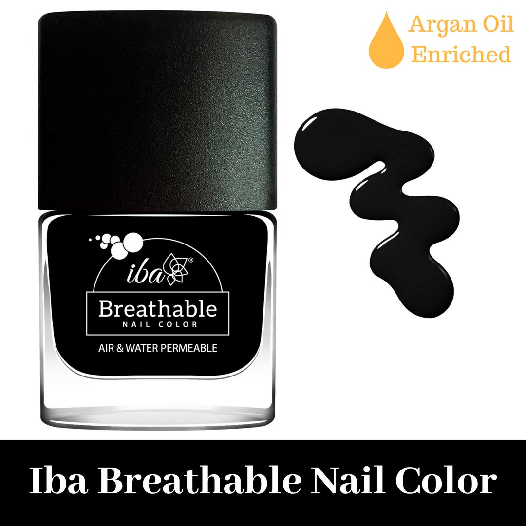 Iba Nail Color Polish Breathable Air Water Permeable Halal Wuzu Friendly B21 Pristine Black Buy Online In India Iba Products In India See Prices Reviews And Free Delivery Over 4 000 Desertcart