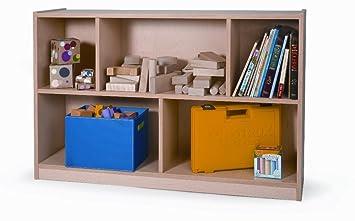 Whitney Brothers 30u0026quot; Maple Melamine Storage Cabinet, Melamine
