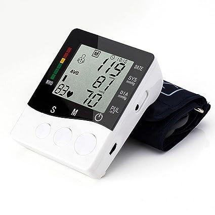 hrrh grande digital medidor de presión arterial brazo de monitor de Pulse de Salud – Tensiómetro