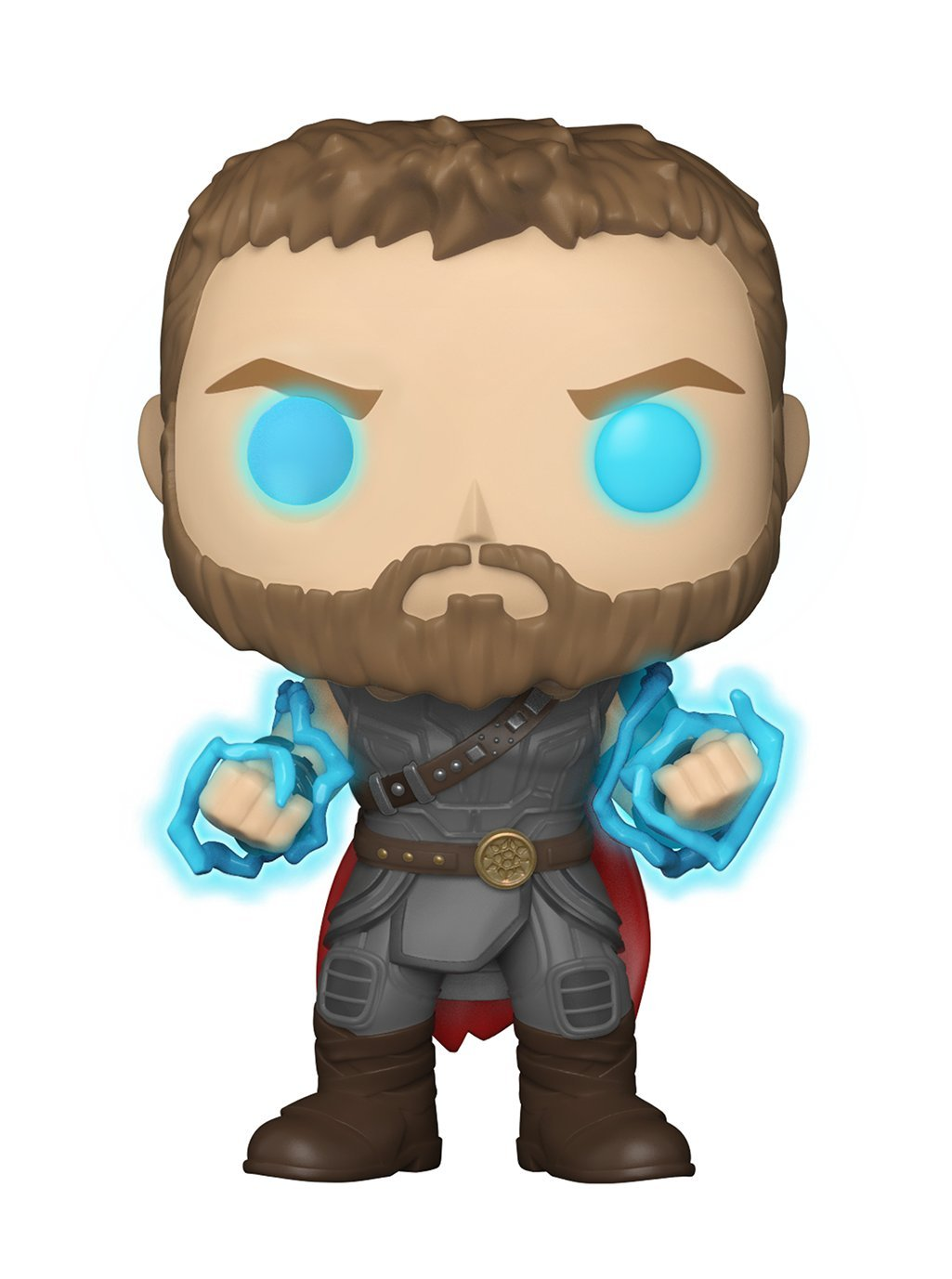 Funko Pop Marvel Ragnarok Thor With Odin Force Collectible Figure