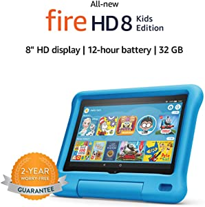 Allnew Fire HD 8 Kids Edition tablet 8 HD display 32 GB Blue KidProof Case at Kapruka Online for specialGifts