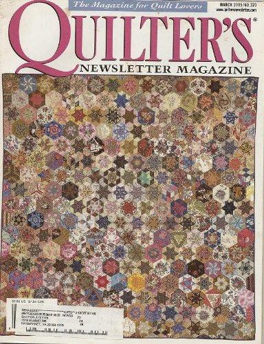 - Quilter's Newsletter Magazine, March, 2005 (Vol.36, No. 2, Issue No. 370)