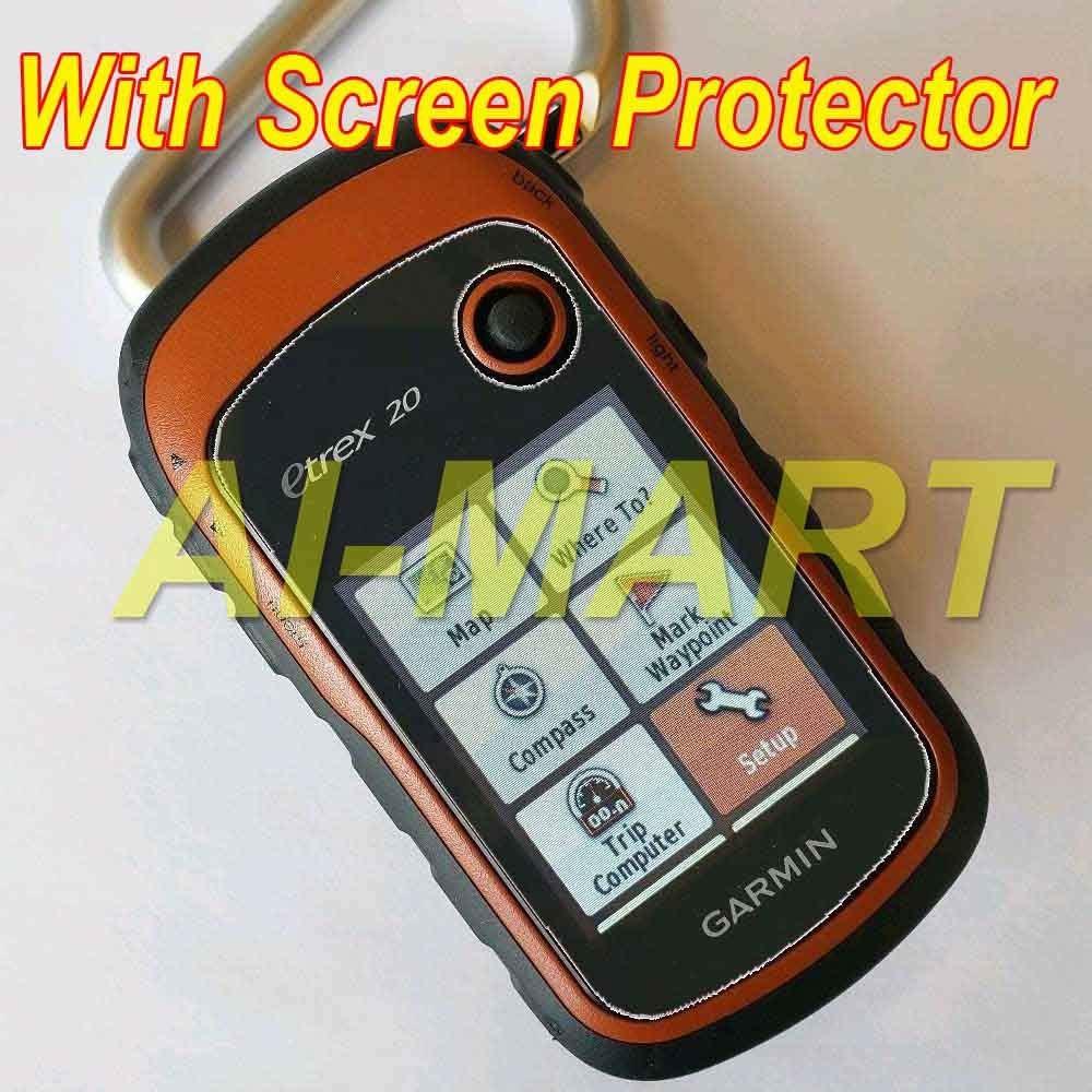 Anti-Bubble,Anti-Scratch 3-Pcs Screen Protector Compatible with Garmin eTrex 20X Clear HD Film with Anti-Fingerprint