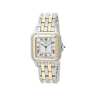 6e29be5371686 Image Unavailable. Image not available for. Color  Cartier Panthere de  Cartier Swiss-Quartz Male Watch ...