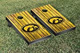 NCAA Iowa Hawkeyes Weathered Version Cornhole Game Set