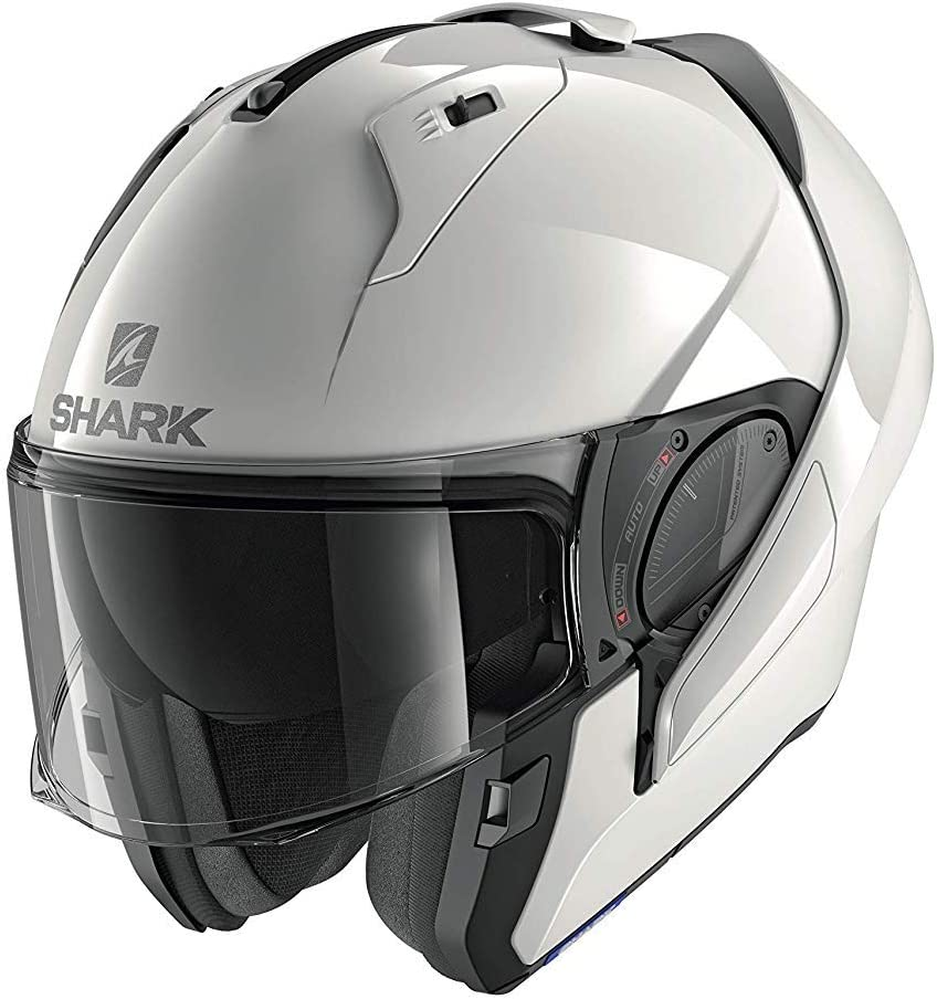 XS SHARK Unisex-Adult NC Motorrad Helm Schwarz