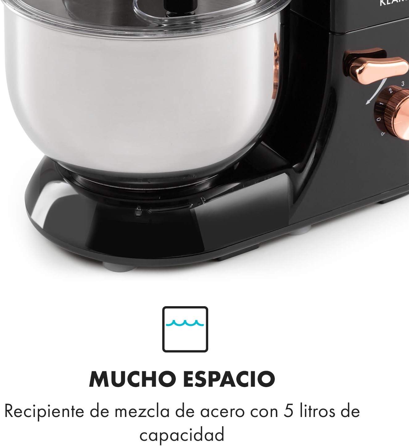 Klarstein Bella Elegance robot de cocina - 1300W/1,7PS en 6 ...