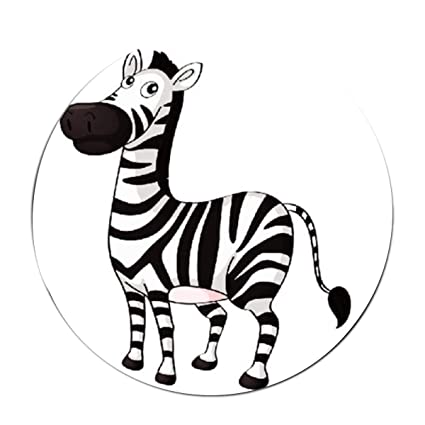 Amazon Com Jonhbkd Zebra Clipart Area Rug Soft Carpet Non Slip