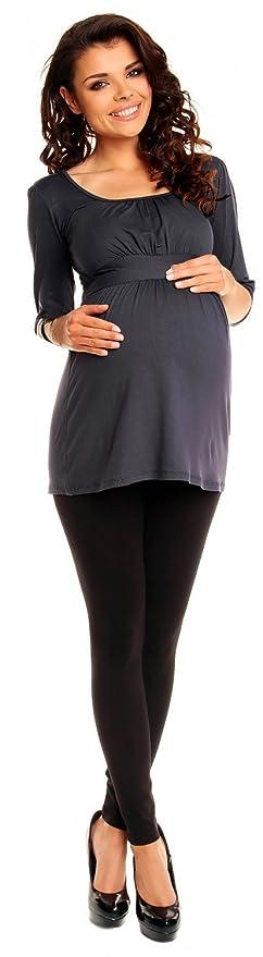 Zeta Ville De Las Mujeres Embarazo Maternidad Extra Mini Vestido Tramo Túnica Superior 940c: Amazon.es: Ropa y accesorios