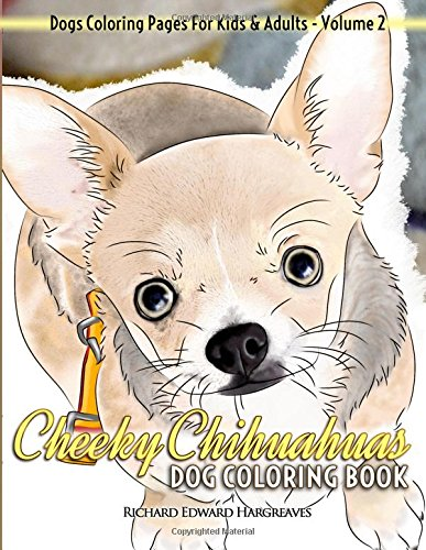 Cheeky Chihuahuas Dog Coloring Book product image