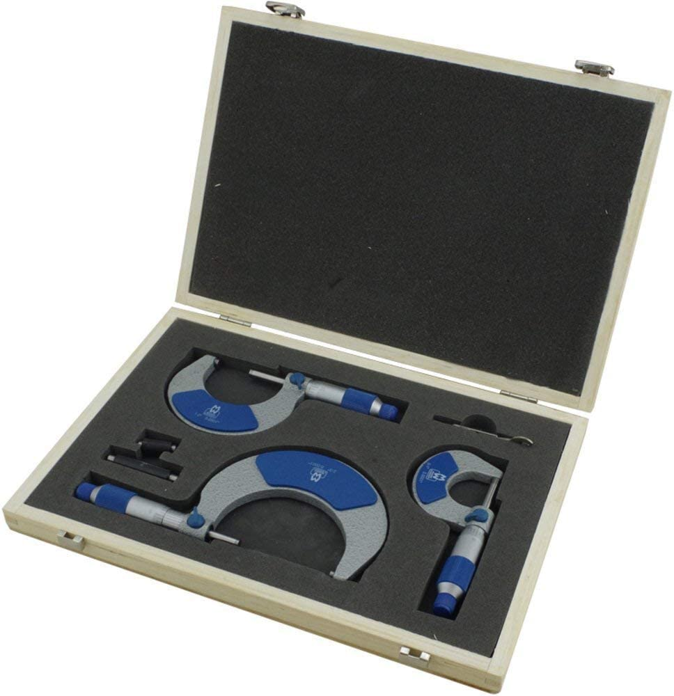 0-3 Moore and Wright Imperial External Micrometer set 215