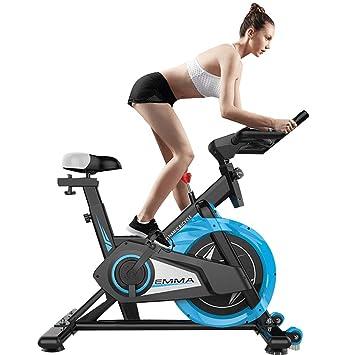 Bicicleta giratoria con amortiguador de golpes, bicicleta estática ...