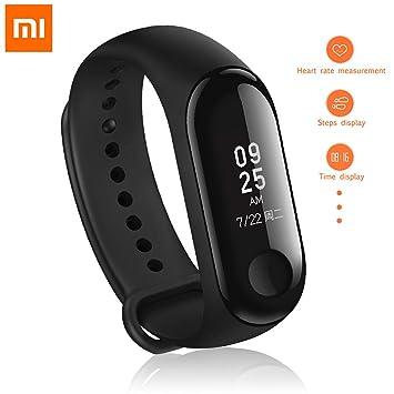 Hongtianyuan Xiaomi Mi Band 3,Tracker dactivité, Montre Connectée avec Bracelet de