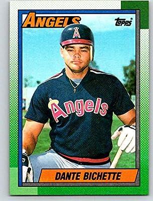 ff45219a3 Amazon.com: 1990 Topps #43 Dante Bichette Mint Baseball MLB Angels ...