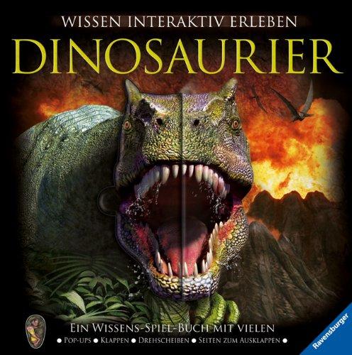 Dinosaurier: Ein Wissens-Spiel-Buch mit vielen Pop-ups, Klappen, Drehscheiben, Seiten zum Ausklappen