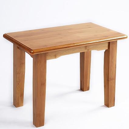 Amazon.com: Bamboo Small Kang Table Coffee Table Small Table Simple Square  Table Low Table Floating Window Table Lapdesks (Size : 503045cm): Home U0026  Kitchen
